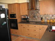 A) .. Kitchen remodeling: Lighthouse Point,  FL. Cabinet Refacing. Construction