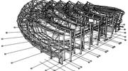 Steel shop drawings