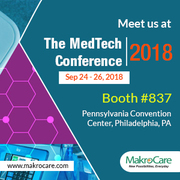 MakroCare to Exhibit at MedTech Conference 2018