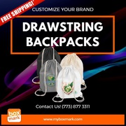 BOXMARK Drawstring backpacks