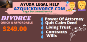 Affordable divorce document preparation service976